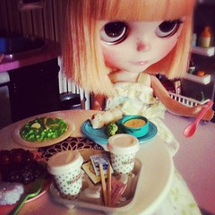 Blythe A Day - 22 {Food} Lola's Dinner