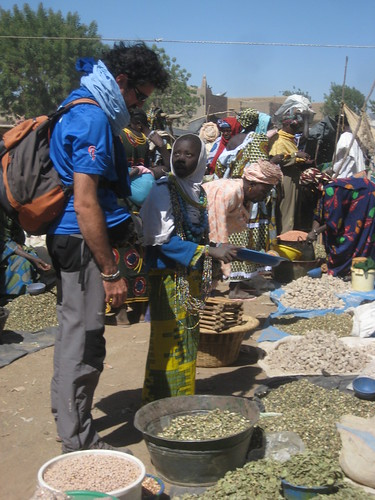 David at the Market of Djenne