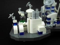 Microtopia - power plant (LegOH!) Tags: world lego space mini future scifi floatingcity miniworld