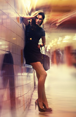 Central Station for We see it Magazine (Sbastien Larreur) Tags: light fashion neon versace sbastien larreur