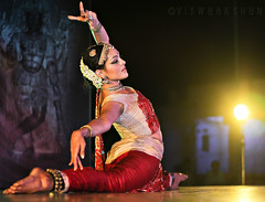 Bharatanatyam - Rukmini (shutterbug in me) Tags: india beauty temple photography bangalore cine bull stretch actress photowalk hasta 2012 stance rukmini bharatanatyam mudra gudiya basavanagudi vijayakumar nritya sambhrama viswaakshan