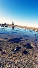 Seymour Tower (mark_stevo) Tags: beach canon sand fisheye jersey lowtide channelislands seymourtower springtide sigma15mm sigma15mmf28exdgdiagonalfisheye 5d2 canon5dmarkii unknown17315mm