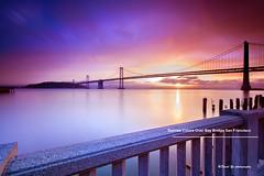 Sunrise Colors Over Bay Bridge San Francisco (davidyuweb) Tags: sanfrancisco california bridge usa colors sunrise bay san francisco over