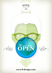 Uri Romano (Nine Graphic Design) Tags: portrait gum design graphicdesign graphic nine 9 identity bubble uriromanoweareopen