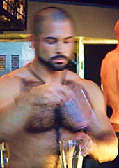 sundayClayday 075 (danimaniacs) Tags: shirtless man hot sexy male guy pecs nipple muscle muscular bare chest hunk sundayclayday