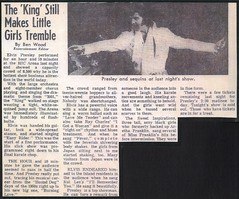 Elvis Presley  Newspaper Concert Review for his Nov. 1972  shows in Hawaii (rockinred1969) Tags: from blue tickets hawaii elvis ticket concerts presley 1972 aloha jumpsuit ticketstub soldout elvispresley inconcert inperson tiffiany elvisconcert suspiciousmindsbluehawaii tiffanyjumpsuit