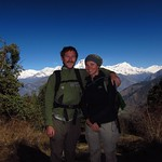 "Us in front of Dhaulagiri Range <a style=""margin-left:10px; font-size:0.8em;"" href=""http://www.flickr.com/photos/14315427@N00/6989082817/"" target=""_blank"">@flickr</a>"
