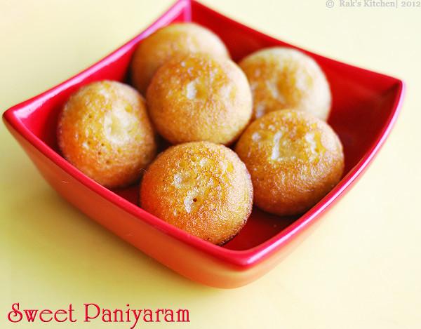 sweet+paniyaram