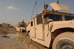 060204-A-6365W-067 (Dan Taylor 1978) Tags: iraq baghdad humvee ussoldiers iraqifreedom operationiraqifreedom fobloyalty 101stdivision