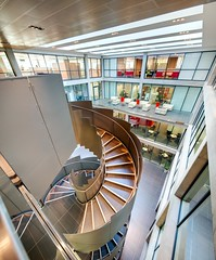 Office Atrium, Justice Mill Lane, Aberdeen (Neale Smith Photography)
