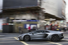 Speeeeed. (Alex Penfold) Tags: auto camera london cars alex sports car sport mobile speed canon photography eos grey photo cool flickr grigio slow image awesome flash picture super spot knightsbridge exotic photograph shutter spotted hyper panning lamborghini supercar spotting exotica sportscar 2012 sportscars supercars penfold spotter evl hypercar 60d hypercars aventador alexpenfold lj12evl lj12