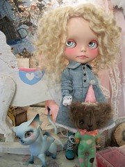 Angel and her toys....