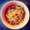 Noodles, anyone? (NorRoz_22) Tags: red food green love happy day yum bell sauce days onions honey eggs peas noodles peppers 100 soy 55 day55 kikoman yaas 100happydays