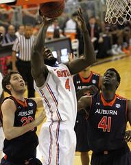 Patric Young Fouled (dbadair) Tags: basketball war university eagle florida gators auburn tigers sec uf 2014