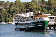 Former Manly Ferry South Steyne takes time out in Berry's Bay (john cowper) Tags: ferry sydney newsouthwales publictransport sydneyharbour manlyferry southsteyne berrysbay sydneypublictransport