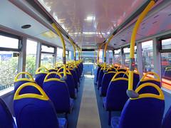 GAL EH52 - YX16OCH - INTERIOR - BV GARAGE - 28TH APR 2016 H (Bexleybus) Tags: bus london ahead interior garage go 400 belvedere dennis mmc bv enviro adl goahead eh52 yx16och