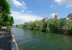 Strasbourg 11 (mpetr1960) Tags: trees sky france tree water architecture clouds river nikon outdoor strasbourg embankment d800 nikond800
