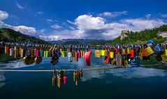 Love Locks in Bled - Slovenija (R.Smrekar-CH) Tags: lake landscape d750 bled slovenija 000000 smrekar