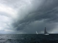 thunderstorm coming (kim.foto) Tags: sailing balticsea thunderstorm segeln kste heiligenhafen xcup cloudsstormssunsetssunrises