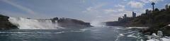Niagara Falls Panoramic Photo (thoman1527) Tags: ontario canada niagarafalls panoramic americanfalls hornblower
