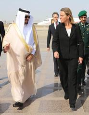 Federica Mogherini visits Saudi Arabia (European External Action Service - EEAS) Tags: mogherini eeas saudiarabia jeddah gulf gcc saudi arabia