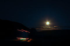 in the shadows (Marcelo Campi) Tags: moon clouds lights movement shadows hills mistery