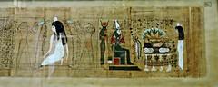 Papyrus of Ubekhet and Tadimut - Deir el-Bahri. Dynasty 21. - Cairo Museum Egypt (Amberinsea Photography) Tags: egypt cairo papyrus ancientegypt cairomuseum thebookofthedead thecairomuseum amberinseaphotography