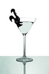 cock-tail (brescia, italy) (bloodybee) Tags: stilllife white reflection bird glass backlight fun drink spirit humor martini cock cocktail alcohol 365project