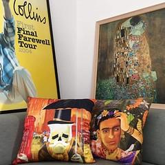 Almofadas na TV (Alegraziani Produto Ilustrado (11) 96175.8787) Tags: art tv artwork artist arte decor decorao interiordesign decoracion almofadas jundiai canal25 almofadaspersonalizadas dicasdedecorao alegraziani almofadafrida almofadacaveira