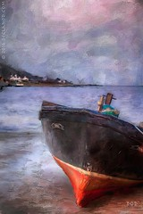 A Boat Called Dog (sbox) Tags: ireland sea sky painterly water painting boats coast textures donegal moville inishowen