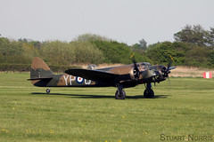 Blenheim L6739 G-BPIV - The Aircraft Restoration Company (stu norris) Tags: aircraft aviation airshow company ww2 restoration blenheim bomber warbird the battleofbritain oldwarden gbpiv l6739