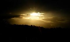 Beam me up. 170/366 (jenniferdudley) Tags: sunset cloud sun skyline nikon glow sunsets rays sunbeam sunbeams lightrays raysoflight nikond5 day170366 366the2016edition 3662016 18jun16