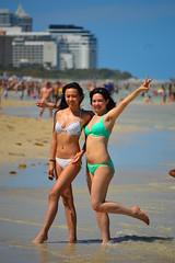 Ta-da! (radargeek) Tags: beach florida miami fl miamibeach southbeach picturepose