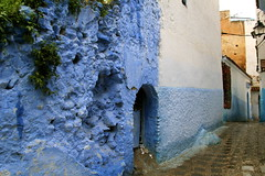 IMG_3699 (rachel_salay) Tags: city blue morocco chefchaouen