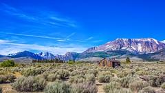 US395 (super*dave) Tags: california house mountains abandoned landscape highway sierra 395 us395 leevining junelakeloop
