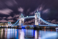 The Tower Bridge. (bgfotologue) Tags: uk longexposure travel bridge england abbey night towerbridge reflections londonbridge landscape photography lights photo image britain outdoor steel tripod parliament palace unesco neonlights lightup imaging 夜景 旅行 1886 gitzo thamesriver 風景 worldheritage ロンドン 2016 夜 世界遺産 攝影 bgphoto 英國 風光 unitedkindom 鐵橋 英格蘭 泰晤士河 腳架 倫敦塔橋 500px ウェストミンスター テムズ川 tumblr 英倫 塔橋 bellphoto