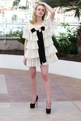Elle-Fanning-Cannes-Film-Festival-2016-Red-Carpet-Fashion-Chanel-Couture-Cool-Chic-Style-Fashion-Site-5 (Cool Chic Style Fashion) Tags: white fashion style hautecouture chanel redcarpet minidress lacedress ellefanning romanticstyle giambattistavalli styleinspiration cocktailsdress