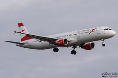 Austrian Airlines --- Airbus A321 --- OE-LBA (Drinu C) Tags: adrianciliaphotography sony dsc hx100v lhr egll plane aircraft aviation austrianairlines airbus a321 oelba