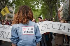 021-Patrick-Batard-9071 (patrickbatard) Tags: lutte foule toulouse slogan classe manifestation drapeau tudiant cortge elkhomri loitravail