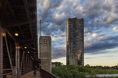 Bridge, Tower and Clouds (rjseg1) Tags: lakepointtower chicago architecture bridge lakeshoredrive