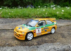 1/43 Ford Escort RS Cosworth rally (thebigmacmoomin) Tags: ford camel modified rs escort 7up cosworth 143 diecast code3