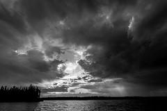 Dramatic James-Bay Sky (martinmenard757) Tags: martin noiretblanc quebec nord menard baiejames