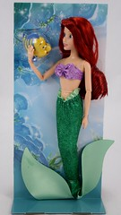 2016 Ariel Classic 12'' Doll - US Disney Store Purchase - Deboxing - Cover Off - Full Front View (drj1828) Tags: disneystore doll 12inch classicprincessdollcollection 2016 ariel flounder purchase deboxing