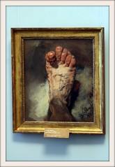 """""""Le pied de l'artiste"""", Adolph Friedrich Erdmann von Menzel (Matteo Bimonte) Tags: berlin quadro berlino altenationalgalerie dipinto adolphvonmenzel lepieddelartiste"""