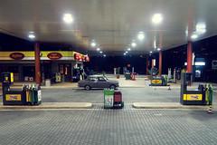 On the road (Gianlucamonaco) Tags: road street old car station canon photography strada diesel gas antica stazione macchina eni g11 servizio pompa frontale agip benzina grigia