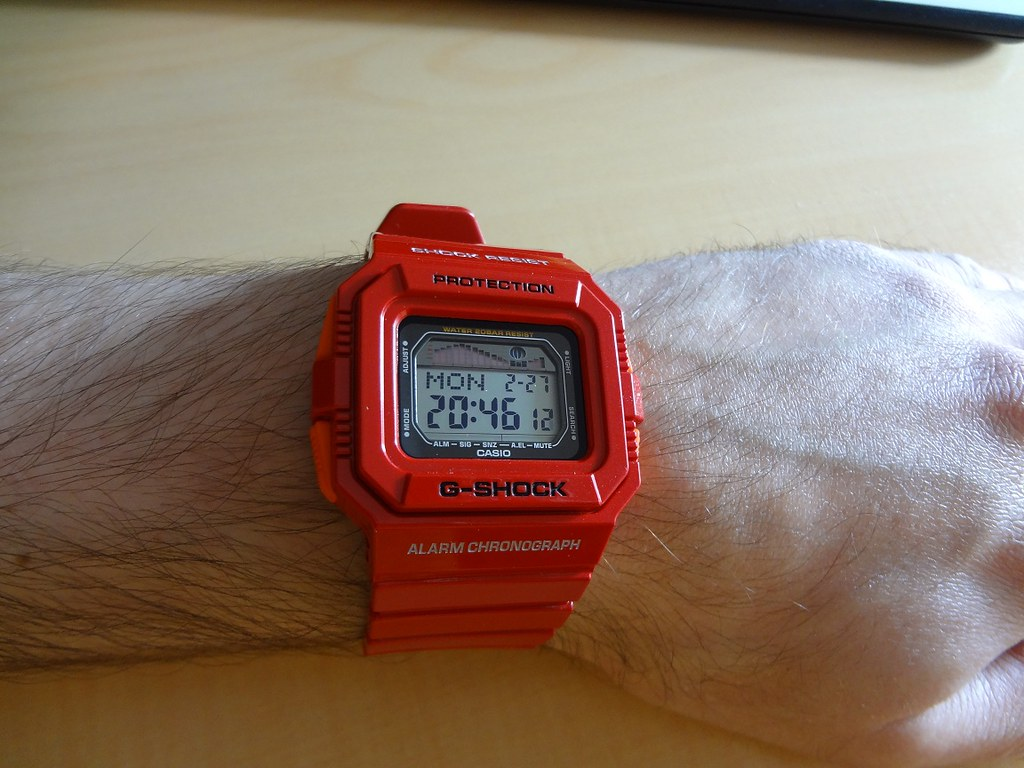 how to set g shock wr20bar