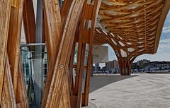 Charpente du Centre Pompidou (claude lina) Tags: france centre cathdrale esplanade chagall roger jacques lorraine pompidou arsenal halles metz villon wurlitzer moselle saintetienne vitraux templeneuf chefsdoeuvres oprathtre bissire