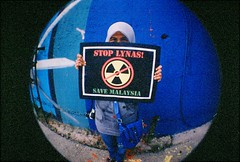 stop lynas! (sexyinred) Tags: lomo malaysia analogue grainy fisheye2 lomocn800 stoplynas