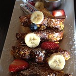 Crunchy French Toast with Vanilla Bean