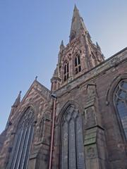St Elphins Church Warrington (UK_Greg) Tags: church st parish bells warrington cheshire sony cybershot spire stelphins ukgreg elphins hdrclock hx100 hx100v dschx100v dchx100v